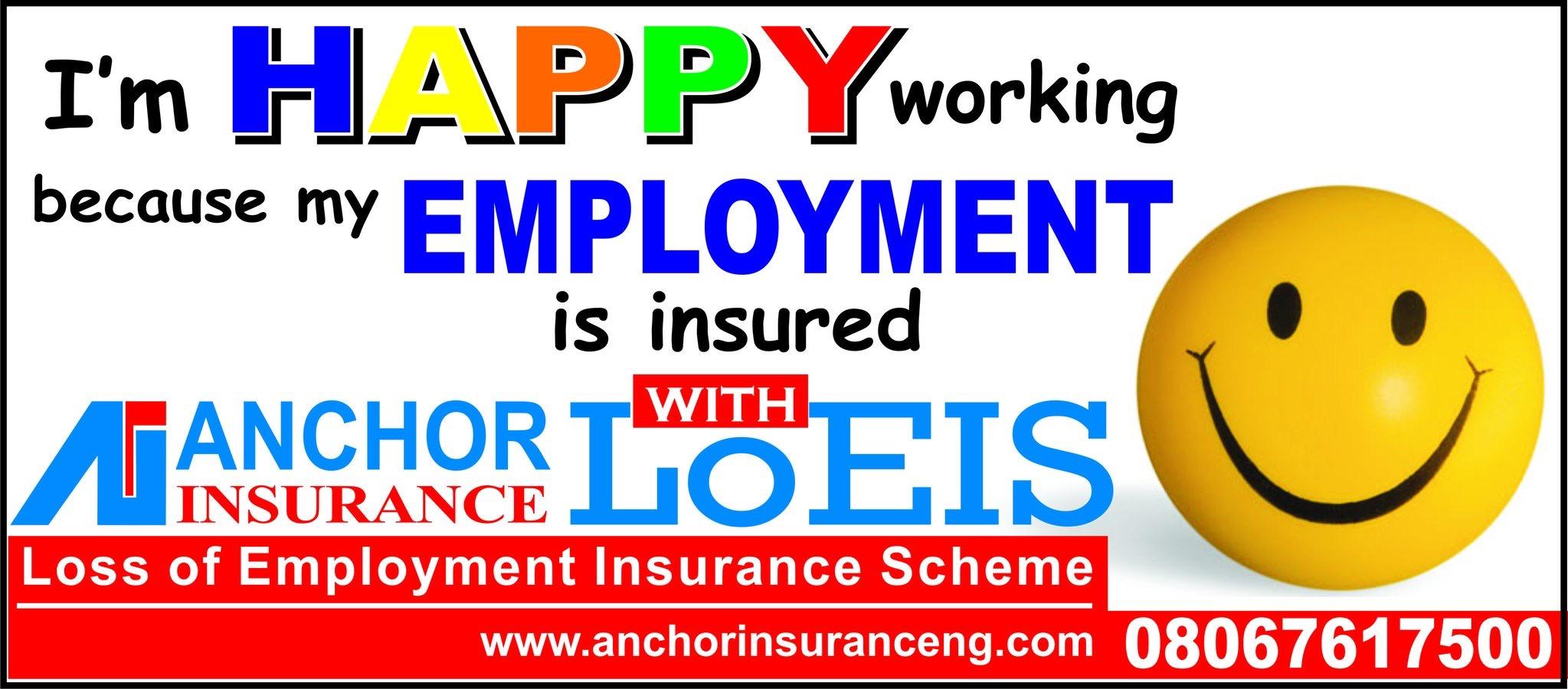Anchor Insurance Launches Loss Of Employment Scheme Rufaioseniblog